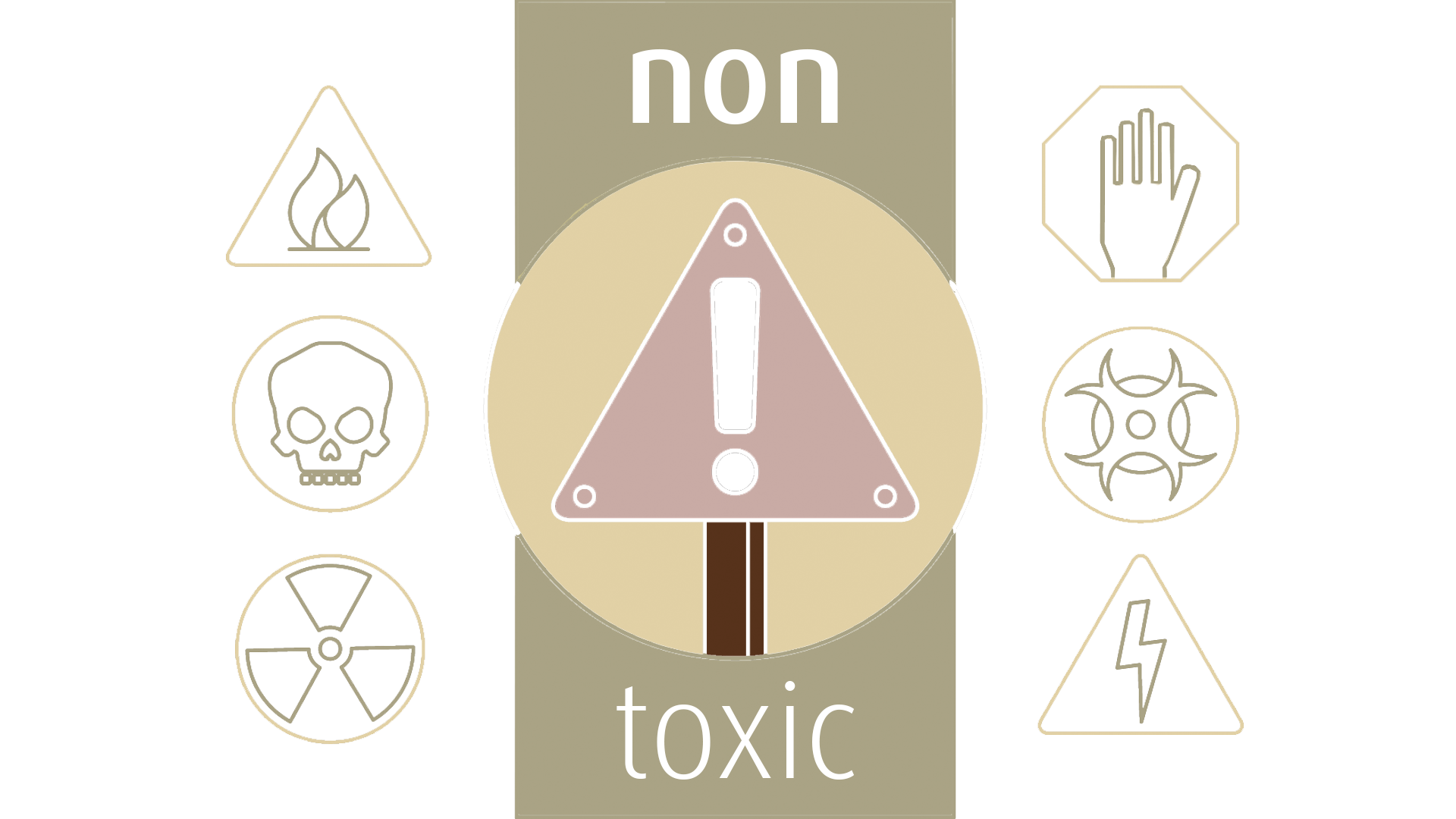 Non toxic salon drawing with in-salon risks