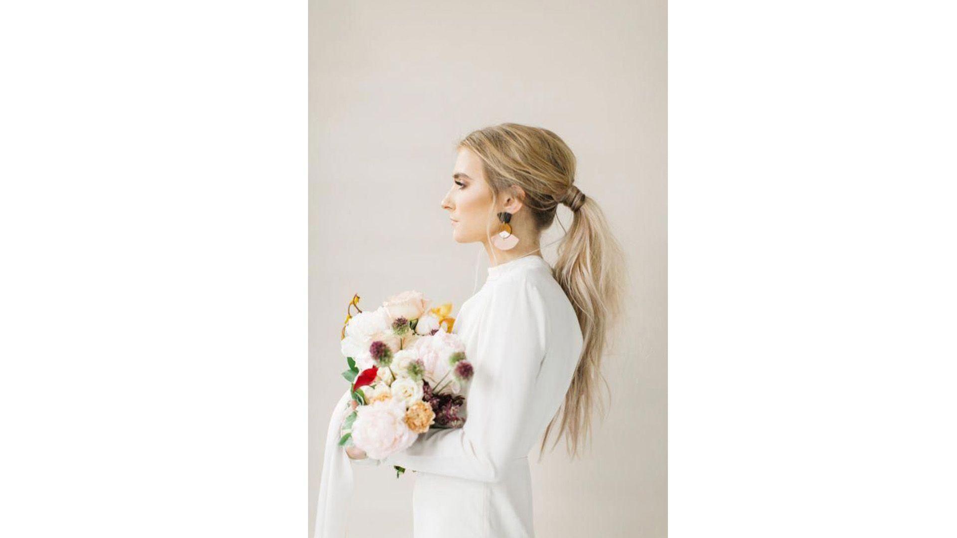 wedding_hair trend_ponytail