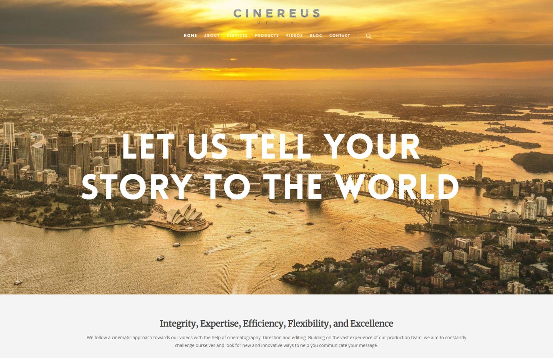 cinereus media - WebGlobals