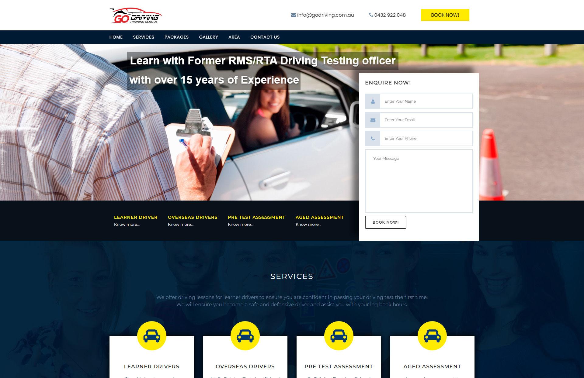 Go Driving - WebGlobals