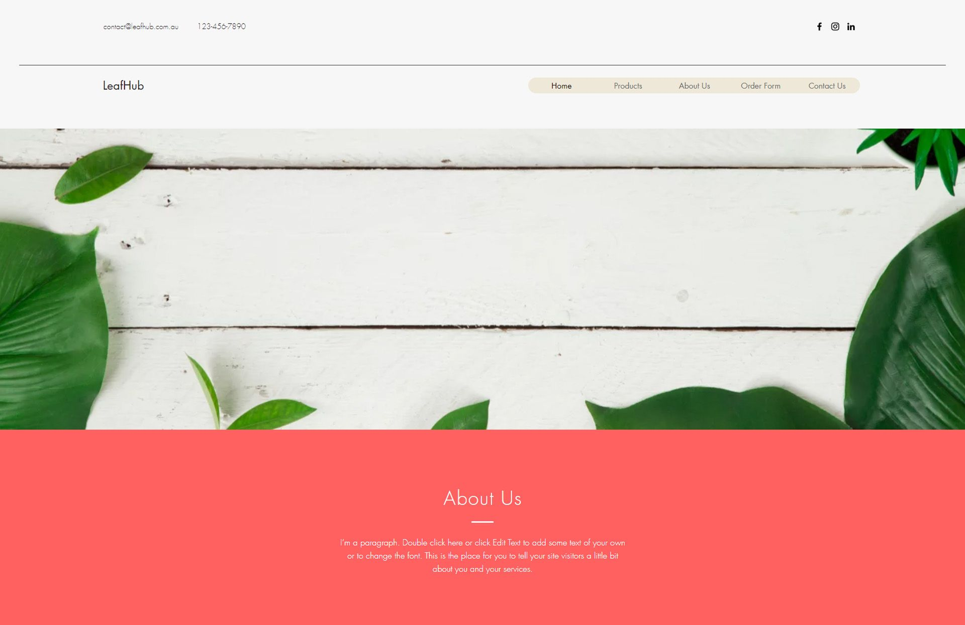 leafhub by WebGlobals