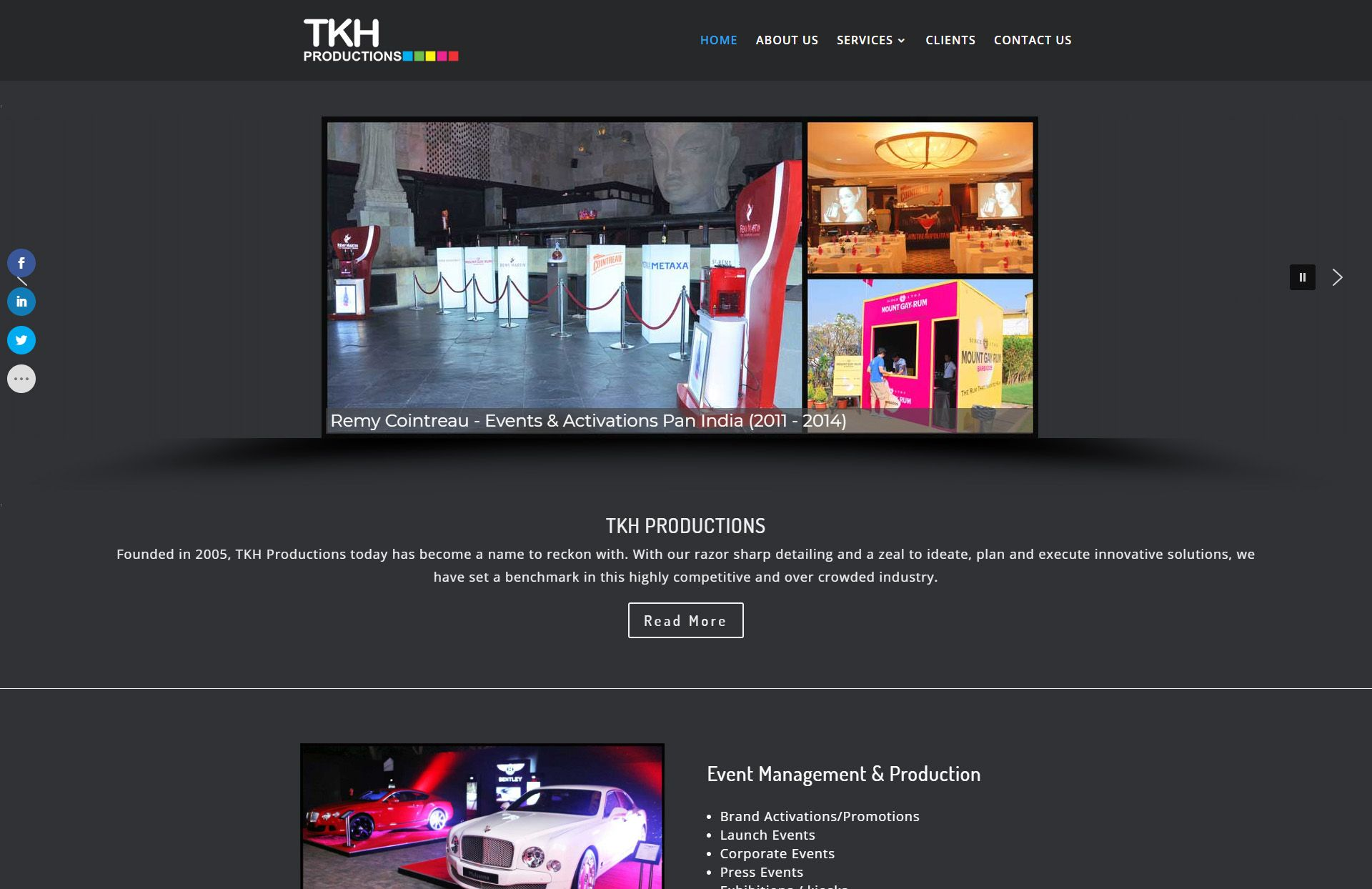 tkh productions by WebGlobals