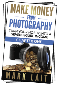 cover of the book 'make money from photography'