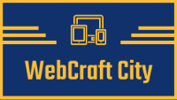 webcraft city logo