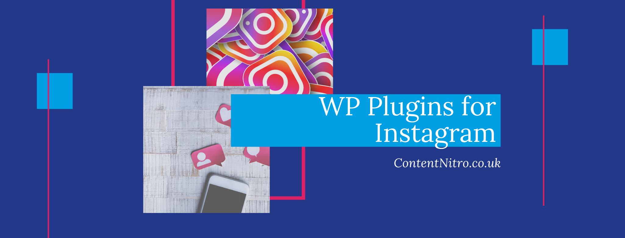 5 Instagram Plugins for WordPress via @saraharrow