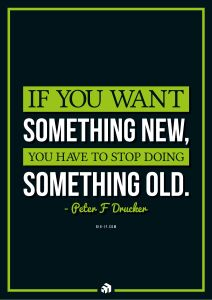 if you want something new you have to stop doing something old - Innovolo Product Development and Design - Innovation-as-a-Service
