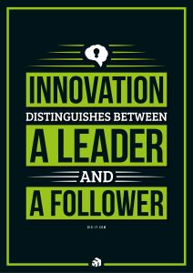 innovation distinguishes between a leader and a follower - Innovolo Product Development and Design - Innovation-as-a-Service