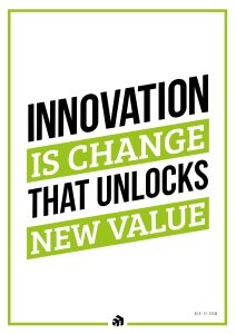 innovation is change that unlocks new value - Innovolo Product Development and Design - Innovation-as-a-Service
