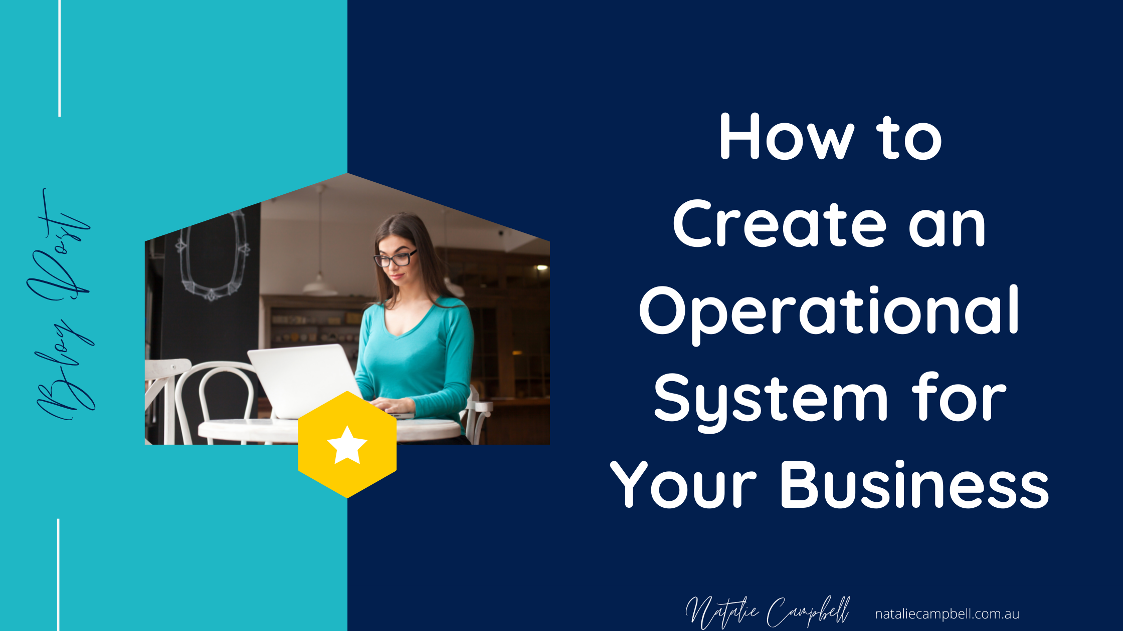 Blog image | Create Operational Systems | Natalie Campbell