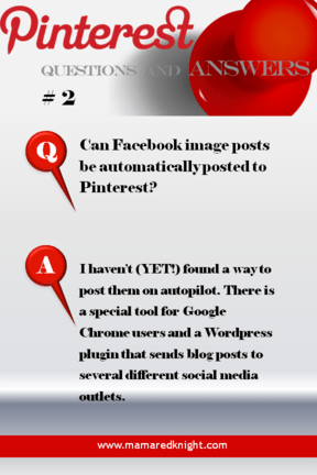 Pinterest Answers How Do I Automatically Post  From Facebook To Pinterest