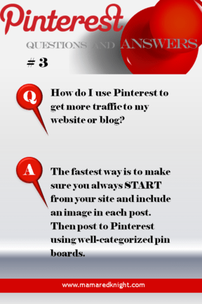 Pinterest Answers How Do I Get More Traffice to My Blog