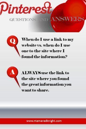 Pinterest How To: How Do I Know What Link To Use