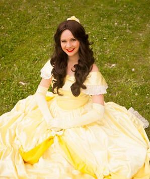 Our Beauty Princess is the belle of the ball. She loves to dance the night away and of course loves to read too!