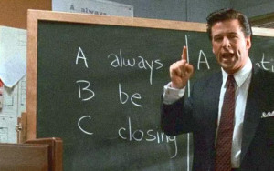 Alec Baldwin Always be closing