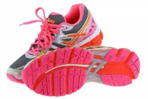 A pair of Asics Running Shoes