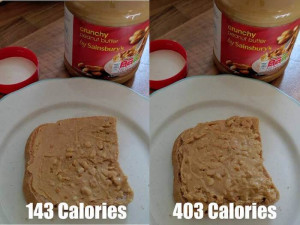 underestimate calories