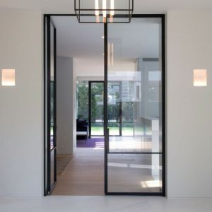 steel hinged doors for interior design