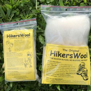 2 Bags of Hiker's Wool, a big and a small bag.