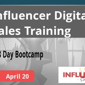 Apr 20 Influencer sales