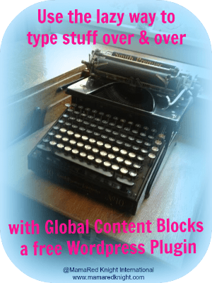 Save time and money with the Global Content Blocks plugin