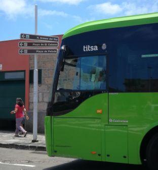 Tenerife bus in Medano