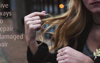 Repairing Damaged Hair