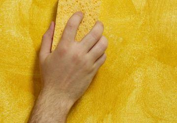 sponge-painting