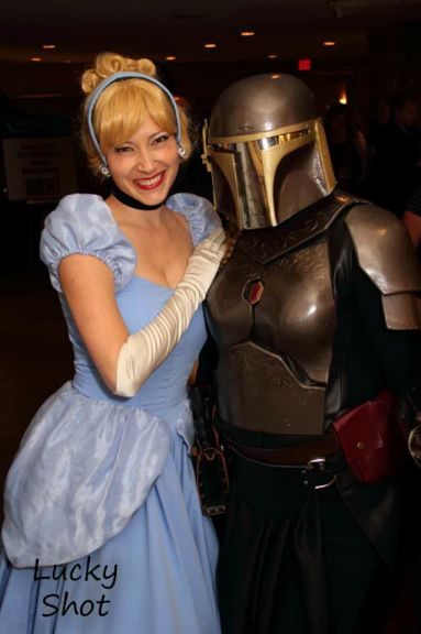 Cinderella and Star Wars Character