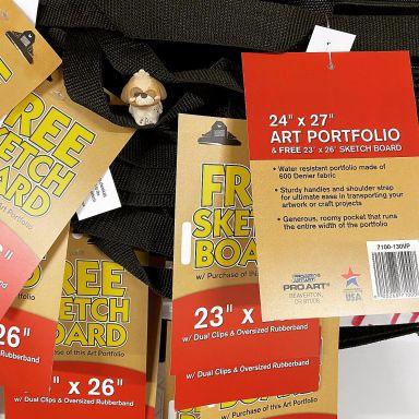 Portfolio and Sketch Board Combo