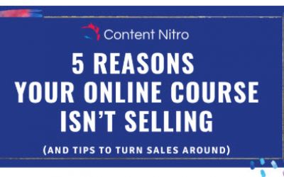 What to Do When Your Online Course Isn't Selling