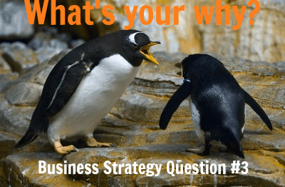 Business Strategy Question 3: Whats Your Why