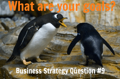 Business Strategy Question #9: What Are Your Goals?