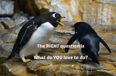 The RIGHT question to ask FIRST