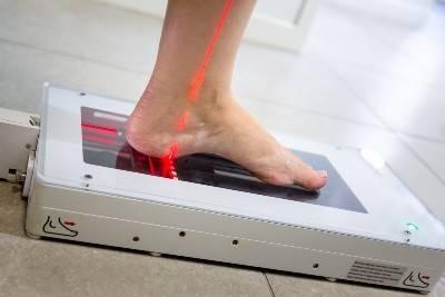 3D Laser Foot scanning at Dynamic Podiatry