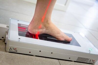 3D Laser Foot scanning at Dynamic Podiatry
