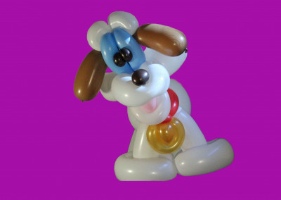 Detailed balloon dog blog