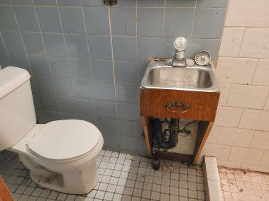 29. 166 Catharine St N - Basement Bathroom