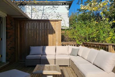 36. 129 Howard Ave - Back Deck 1