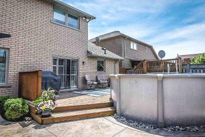 Backyard - 990 Upper Kenilworth Avenue Hamilton East Mountain