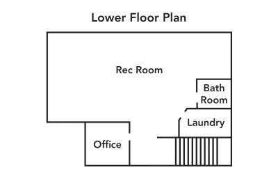 Lower Floor Plan - 990 Upper Kenilworth Avenue