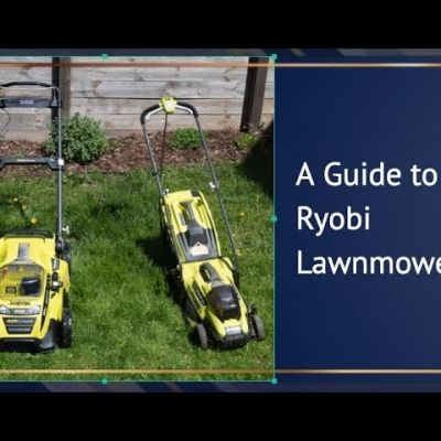 Ryobi Lawnmower Guide