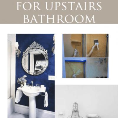 Remodel plans: Upstairs Bathroom