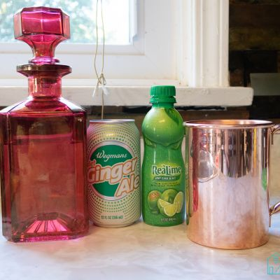 Keto Friendly Moscow Mule Cocktail Recipe