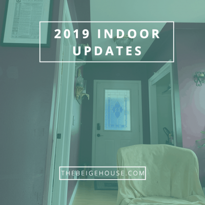 2019 House Updates: Indoors