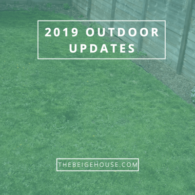 2019 House Updates: Outdoors
