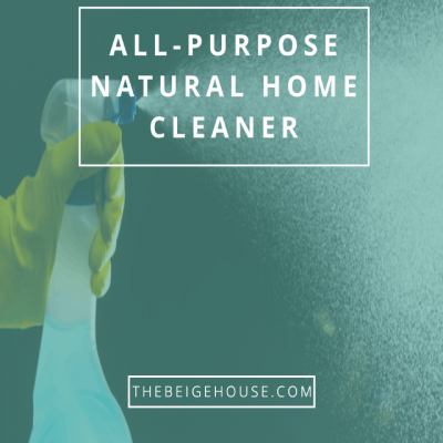 DIY All-Purpose Natural Home Cleaner