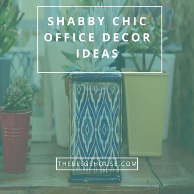 Shabby Chic Office Decor Ideas