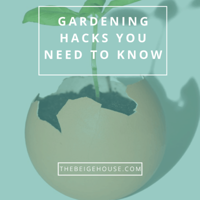 Two Major Gardening Hacks You Need to Know