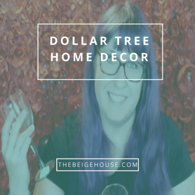 Dollar Tree Home Decor and Crafting Haul