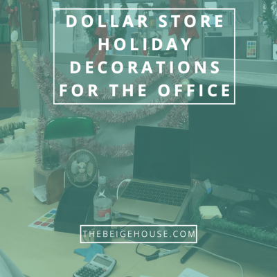 Holiday Decorating (My Workspace)